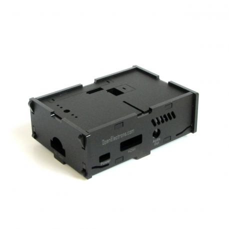 Pi-Case (Black) for Model B+ & Pi 2 B