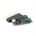 Bluetooth 2.1 Console Adapter for Raspberry Pi with Pass-through-header