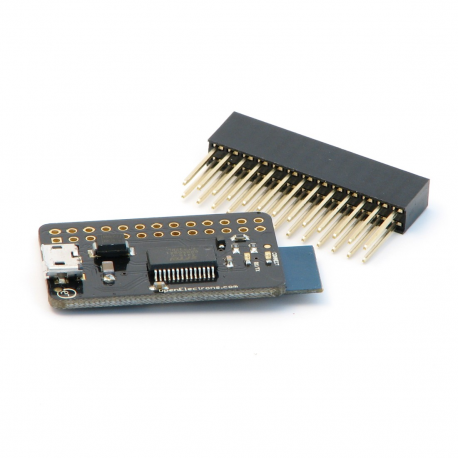 Bluetooth 4.0 Console Adapter for Raspberry Pi with Pass-through-header