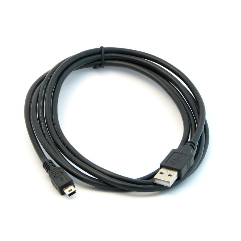 Usb Cable With Mini B Connector