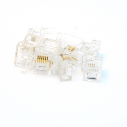 NXT/EV3 Compatible (male) Plugs - 100 pack