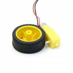 Motor-and-Wheel for BombiniBot