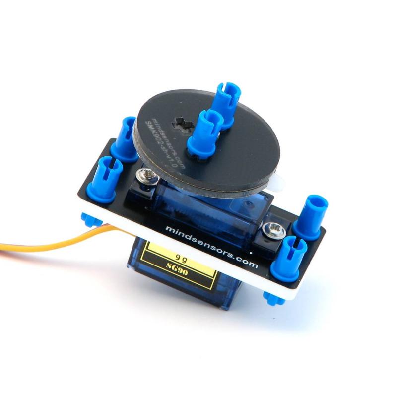 Rc Mini Servo 9 Grams With Mounting Kit For Nxt Ev3