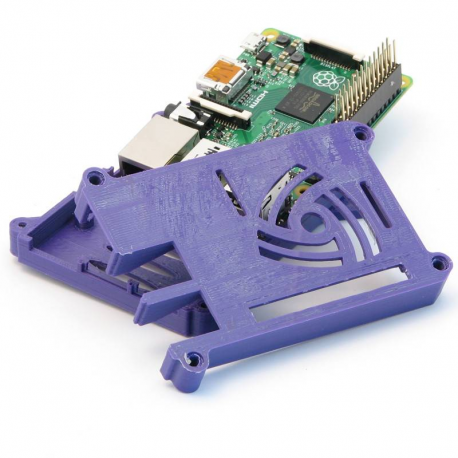 Raspberry Pi 2B case with VESA mount