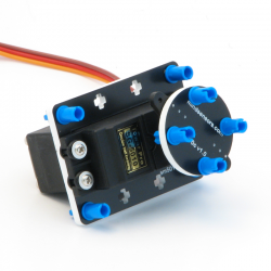 Continuous Rotation RC Servo (47 g) with mounting kit for EV3 and NXT