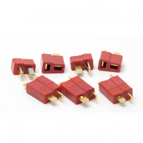 T-Plug Connectors (Pack of 5 Male and Female pairs)