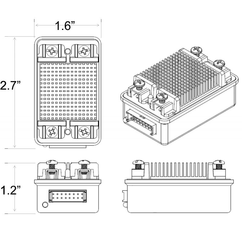 SD540B PWM Motor Controller for FRC - mindsensors.com