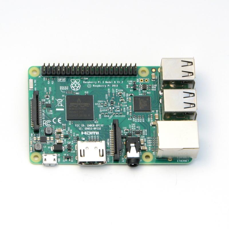Raspberry Pi™ 3 Model B 1GB RAM Single Board Computer
