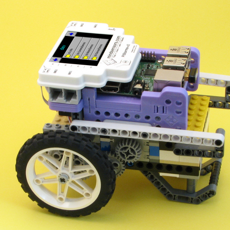 Build Raspberry Pi Robots with PiStorms Starter Kit