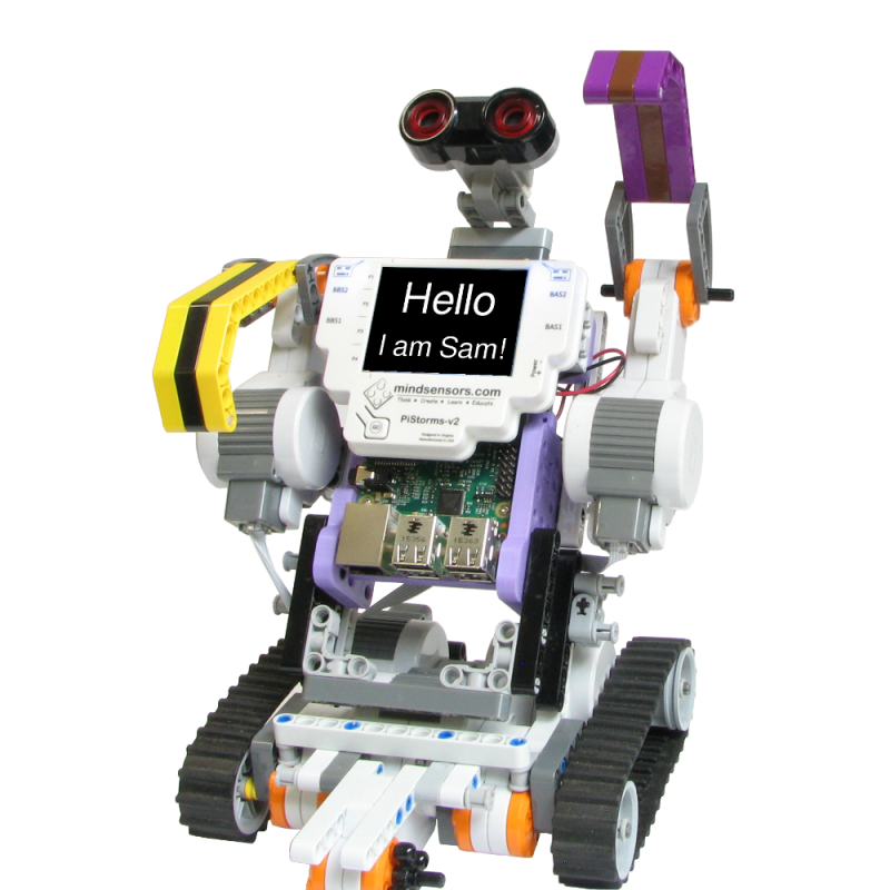 PiStorms LEGO Mindstorm with Raspberry Pi Brains