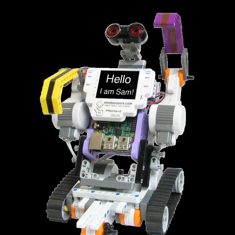 Complete LEGO Robotic Kit with Raspberry Pi