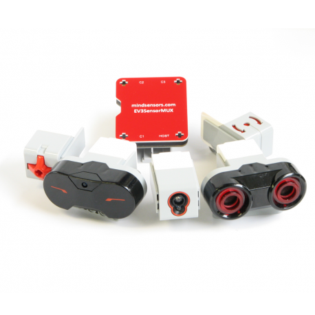 EV3 Sensor Multiplexer & ev3 sensors list