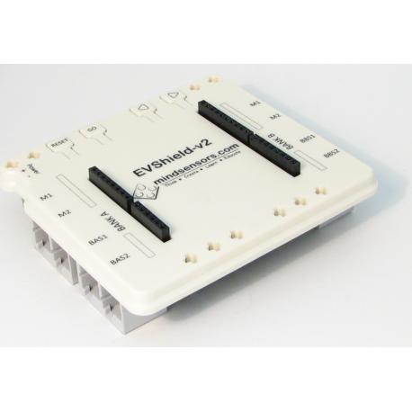EVShield supports all ev3 sensors and motors