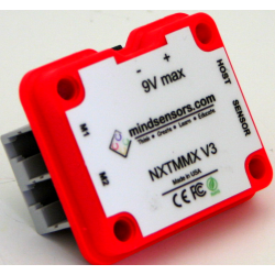 Multiplexer for NXT/EV3 Motors (NXTMMX-v3)