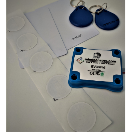 RFid tag reader for NXT and EV3