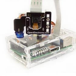 Pi-Pan, a Pan-Tilt Kit for Raspberry Pi Camera