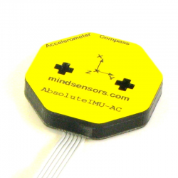 MultiSensitivity Accelerometer and Compass for NXT or EV3