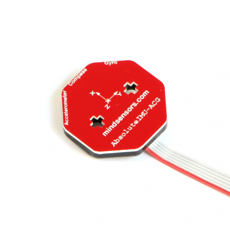 Gyro, MultiSensitivity Accelerometer and Compass for NXT or EV3