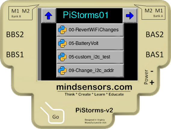 PiStorms Change Address