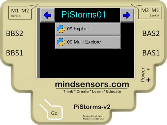 PiStorms Explorer Program