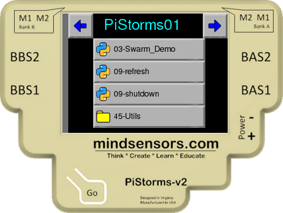 PiStorms Change I2C address