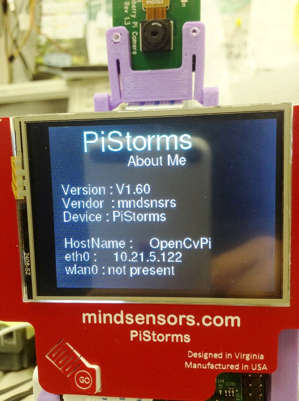 PiStorms With Older Firmware