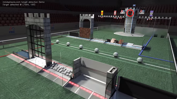 track Stronghold high goalpost