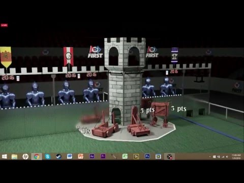 track Stronghold high goalpost using vision system on your