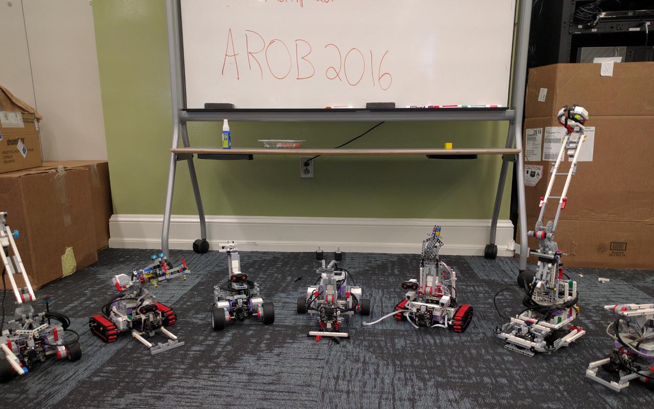 Make awesome robots