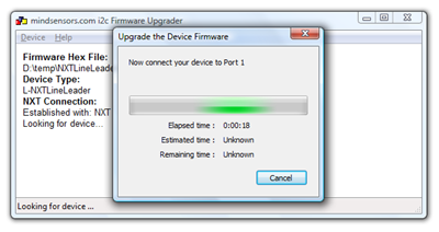 firmware upgrader attach device