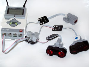 Attach Mulitple Sensors to a Single EV3 Port