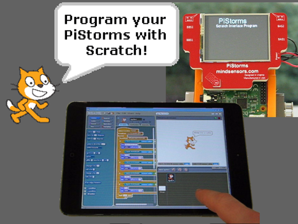 Program PiStorms with Scratch - Getting Started