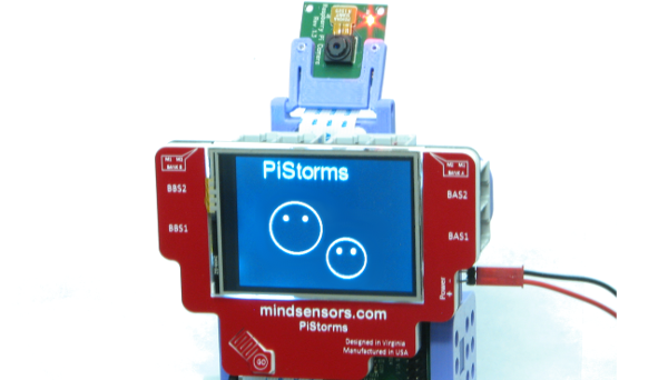 Track Your Face With PiStorms PopHeads Program