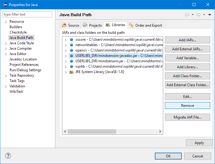 Linking Javadoc in Eclipse